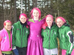 froshies with pink hair. Photo: mama koons.