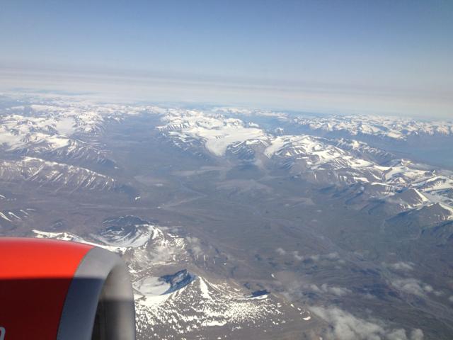 leaving Svalbard