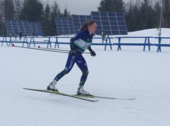Racing in Craftsbury at the Eastern Cup in 2013. (photo: Adam Glueck)